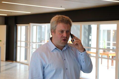 ROTTESJEKK: Bjørn Sand (Sp) ville vite om rørsystemene til kommunen sjekkes godt nok for skadedyr.