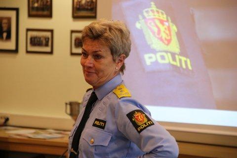 UTSATT: Politimesteren i Agder Kirsten Lindeberg sier polititjenestemenn og kvinner er vant til å tåle offentlighetens lys og også få kritikk.