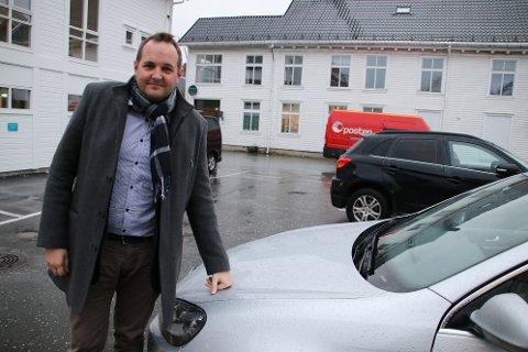 Stortingsrepresentant Gisle Meininger Saudland fra Flekkefjord