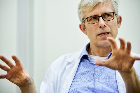 PANDEMI: Overlege i medisinsk mikrobiologi ved St. Olavs hospital og førsteamanuensis ved Institutt for klinisk og molekylær medisin ved NTNU, Andreas Christensen.