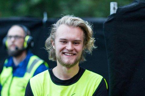 FESTIVALSJEF: Simen R. Berrefjord leder Norges eldste rockefestival.