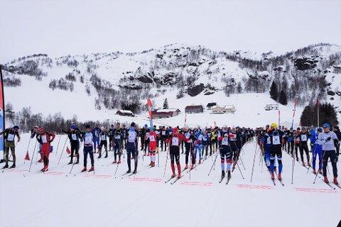 SIRDAL SKIMARATON: Det var over 300 deltakere på startstreken under årets maratonrenn i Sirdal.