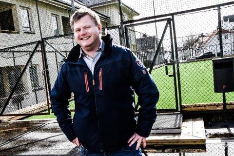 GODT MOT: Sigurd Åtland i FFK er glad for at de yngste i klubben nå har kommet i gang med treningen igjen. Arkivfoto: Anette Larsen