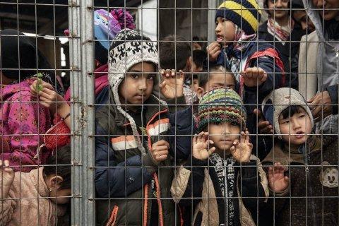 UMENNESKELIG: Barna i Moria lever under forhold som ingen barn skal leve under. De er ofre for stormakters spill, voksnes valg og stor fattigdom.