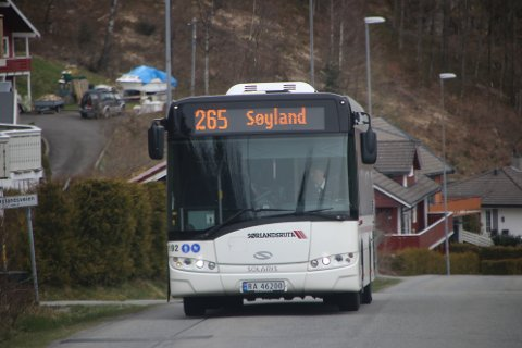 SLO INN UMIDDELBART: Fra fredag 13. mars opplevde selskapet Agder Kollektivtrafikk en umiddelbar nedgang i passasjergrunnlaget på 80 prosent med tilhørende bortfall av billettinntekter.