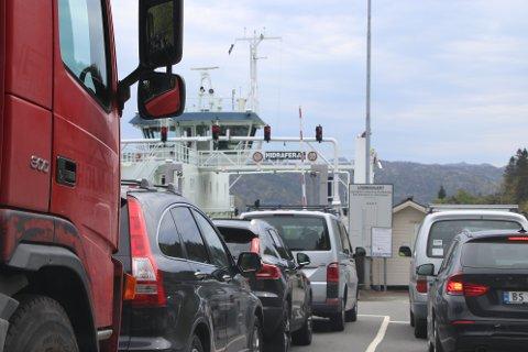 FORNYER FERJEKAIER: Ferjekaiene for sambandet til Hidra og Andabeløy må oppdateres for over 40 mill for å være klar for elferjer.