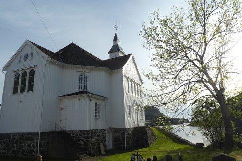 BRANNSIKRING: Brannsikring av kirken på Hidra er et av prosjektene som kan ligge godt an når Flekkefjord kommune nå kan bruke fem millioner kroner ekstra på vedlikeholdstiltak i nærmeste fremtid.