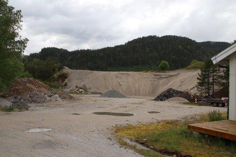 MILJØSTASJON: Sirdal kan få en miljøstasjon ved sandtaket bak kremmerhytta til ASVO.