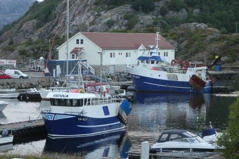 AKTIV FISKERIHAVN: Fiskerihavna i Kirkehamn er en av de som er aktuelle for tilskuddsordningen.