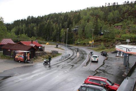 KRYSSET: GP-Krysset skal fornyes slik at trafikken til og fra Sinnes via fylkesvei 468 og Hunnedalsveien skal bli bedre og mer oversiktlig.