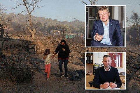 SOLIDARITET: Både Terje-André Kvinlaug (øverst) og ordfører Per Sverre Kvinlaug minner om kommunens vedtak, og understreker at Kvinesdal er klare til å ta imot mindreårige flyktninger til kommunen.