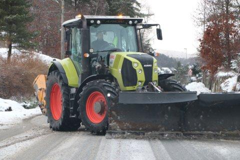 RASK STRØING: Fylkesvei 4148 går mellom Trolldalen og Snerthammer i Flekkefjord. Veien er 3,1 km lang. Den første biten fra Trolldalen til Rauli er kategorisert i en driftsklasse som betyr rask brøyting og salting/ strøing. (Frem til 2019 hadde veien betegnelsen fylkesvei 925.)