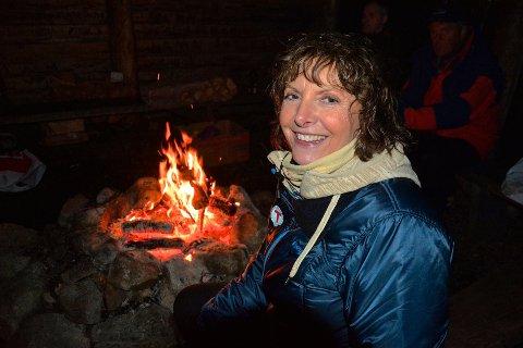 BLI MED UT: Styreleder Lilly Marie Kongevold i Flekkefjord og Oplands Turistforening (FOT) håper mange vil bli med og tilbringe søndag 7. februar utendørs. Hun synes det er positivt at koronaen har fått flere til bruke tid ute.