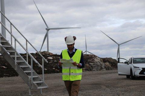 MÅ BLA OPP: Administrerende direktør Tom Indesteege i Tonstad vindpark må antagelig be eierne om å bla opp flere millioner til vertskommunene Sirdal og Flekkefjord i årene fremover.
