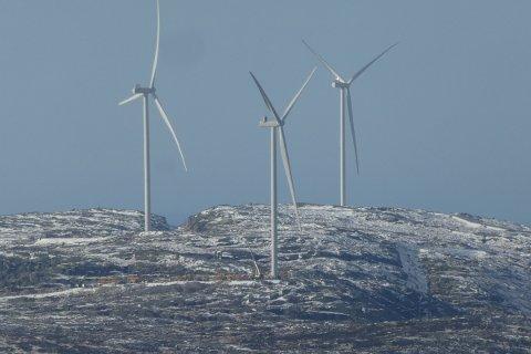SVIVER RUNDT: – Vi har nå koblet 13 turbiner til strømnettet, og vil spenningssette de siste i løpet av et par uker. Nå pågår det kvalitetssikring, inspeksjoner og testing, opplyser daglig leder Leon Eliassen Notkevich for Buheii vindpark til Agder