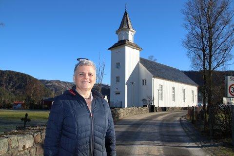 KLAR TIL INNSATS: Sogneprest Christiane Krahner legger opp til en påske der det skal være et godt kirketilbud i hele Sirdal.