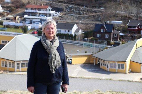 UBEHAGELIG: –  Jeg opplevde innlegget som kom fra FAU-lederen på barnas klassesider på Facebook som ubehagelig fordi det splitter foreldregruppene, sier Gerd Turid Jensen som selv har barn på Søyland skole.