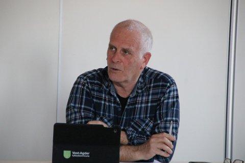 VIL VÆRE PÅ BANEN: Leder Per Stordrange i rådet for personer med nedsatt funksjonsevne ønsket mer aktiv hjelp fra administrasjonen for å kunne gi innspill til plansaker.