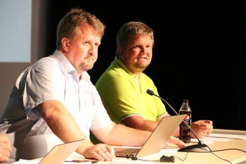 OVERTOK KLUBBA: Ordfører Klungland ble erklært inhabil i saken siden han er styreleder i Smaabyen. Varaordfører Stian Birkeland (Uavh) overtok ledelsen i saken som ble avgjort enstemmig uten noen debatt.