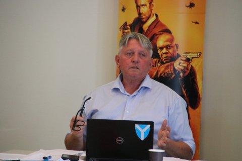 NY TITTEL: Rådmann Jens Arild Johannessen i Kvinesdal bytter tittel til kommunedirektør fra 1. juli. Det har kommunestyret i Kvinesdal bestemt i sitt siste møte før sommerferien.