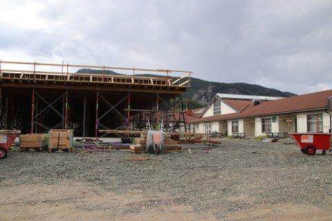 KVINESDAL: Kvinesdal er en av kommunene her i regionen som holder på å bygge nye omsorgsboliger.