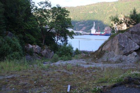 HYDROGENFABRIKK: Kvina Energy Park AS ønsker regulering av et område nord for Indrevika innerst i Fedafjorden for å etablere nye industritomter i dette området. Det vil også være aktuelt å legge tilrette for fasiliteter for utskiping.