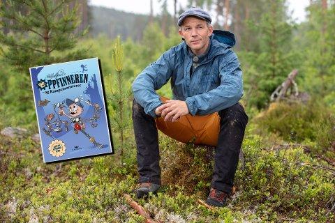 NY BOK: Oppfinner Erik Alfred Tesaker kommer ut med ny barnebok snart.