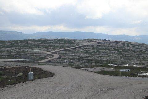 PÅ FJELLET: Med kilometervis med grusveier på Buheii øker tilgjengeligheten til dette fjellområdet nord i Kvinesdal.