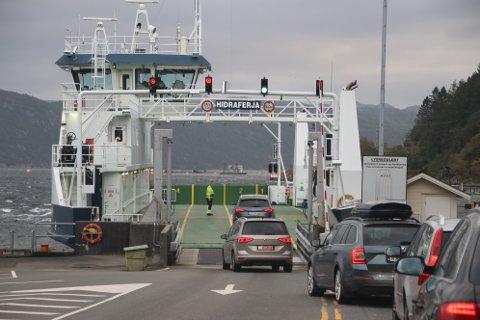 FERJETILBUDET: Formannskapet i Flekkefjord vil ha svar på hvorfor det ikke brukes ekstratur når det er køer på ferjeleiet. Svaret fra fylkeskommunen er at det i slike tilfeller må bestilles ekstraferje fra fylkeskommunen.
