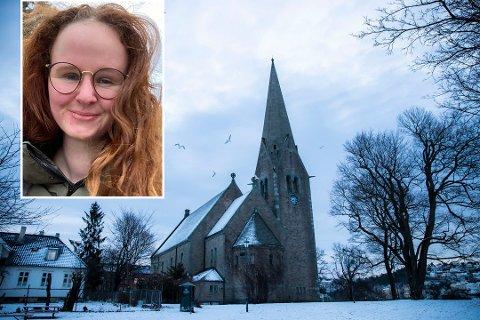 ADVARER: Matilde Brandt (27) fikk seg en støkk da et akende barn smalt inn i bilen, nå advarer hun akere på Vålerenga.  Foto: Håkon Mosvold Larsen / NTB / Matilde Brandt