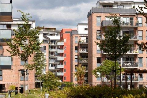 LANG TID: Det tar lang tid å bygge nye boliger i Oslo, som gir dyrere boliger.