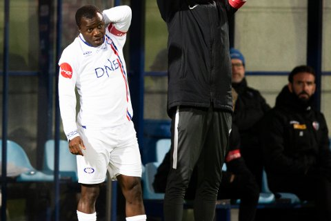 Ousmane Camara har slitt med spilletid i Vålerenga.