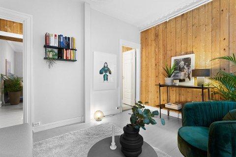 INTERESSE: Det var over 30 på visning på denne leiligheten i Conradis gate på Grünerløkka søndag. Flere meglere melder om mange på visning de første dagene i 2021.