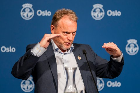 BEKYMRET FOR SITUASJONEN: Byrådsleder Raymond Johansen.