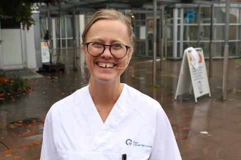 UTMERKELSE: Lene Kjelkenes Bjørnsons mange kvaliteter som sykepleier har ført til at hun har fått utmerkelsen som årets sykepleier i Oslo i 2020.