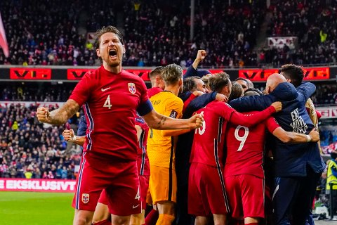 UTSOLGT: Stefan Strandberg og resten av de norske spillerne kommer til å spille for et fullsatt Ullevaal når VM-skjebnen skal avgjøres.