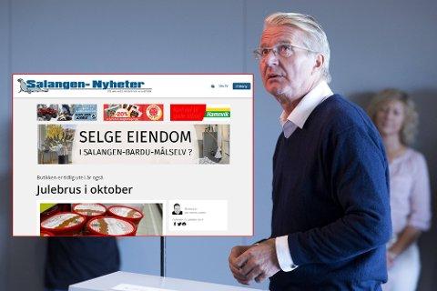 HJELPENDE HÅND: Tidligere Oslo-ordfører Fabian Stang har kjøpt konkursboet til Salangen Nyheter Drift.