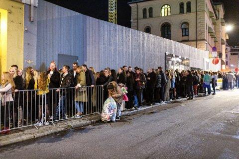 KØ: Slik har det sett ut utenfor de fleste utestedene i Oslo de siste helgene.