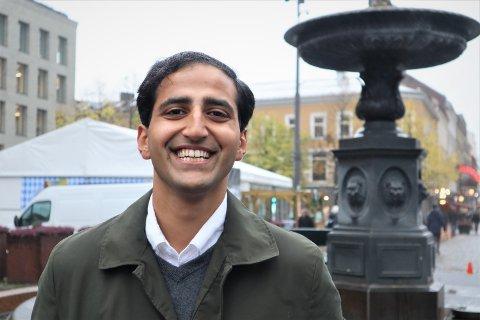 BLIR OSLO HØYRES FREMSTE HELSEPOLITIKER: Hassan Nawaz.