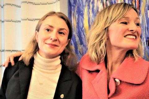 RØRT: Sunniva Holmås Eidsvoll var rørt da hun overtok skolebyråd-roret etter Inga Marte Thorkildsen.