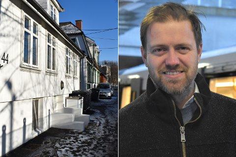 TRUET: Andreas Halse (Ap) er åpen for andre løsninger enn Bane Nors planer om å rive «Hylla» på Vålerenga.
