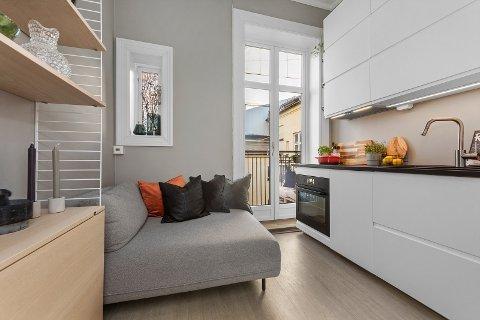 FØRSTEGANGSKJØP: Den typiske kjøperen for leiligheten er førstegangskjøper, mener eiendomsmegler Joachim Lauritsen.
