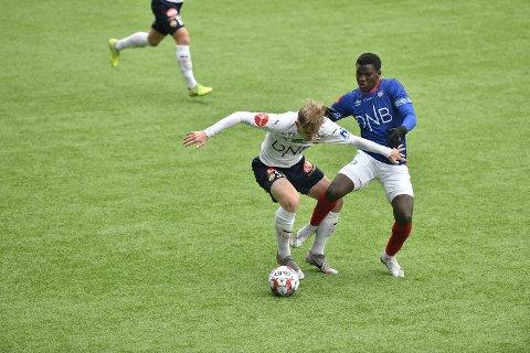 Seedy Jatta spilte en kjempekamp for Vålerenga.