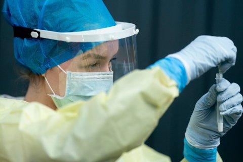 ØKT TESTING: Det var svært mange som testet seg for koronavirus i Oslo i forrige uke, sammenlignet med uka i forkant.