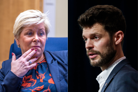 VIL HA MED SIV: – Jeg lurer jo på: Vil Siv Jensen lytte til folk flest i Oslo? spør Bjørnar Moxnes (R) og viser til en undertøskelse som viser at 70 prosent av Oslos innbyggere ønsker å bevare regionssykehuset.