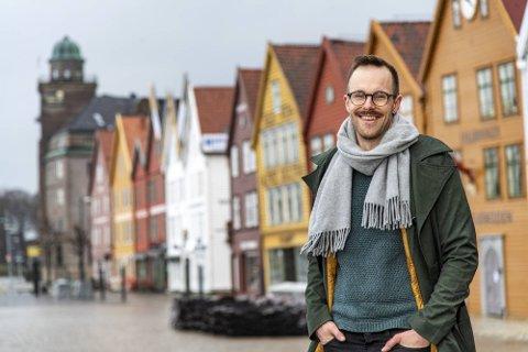 TAKKER OSLO: SVs Jarle Brattespe, bystyrerepresentant i Bergen, sto bak forslaget om en takk til hovedstaden.