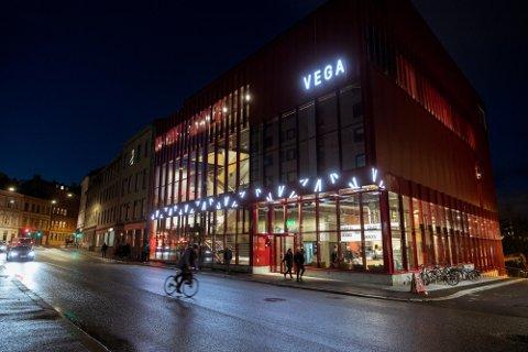 STRØMMETJENESTE: Vega Scene lanserte Vega Hjemmekino onsdag 24. mars. Bildet viser Vega Scenes lokaler i Hausmanns gate 28.