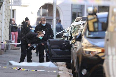 DREPT: En kvinne i 50-årene ble skutt og drept på Frogner onsdag morgen. En mann i slutten av 30-årene er pågrepte og siktet i saken.