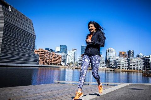 LØPEFRELST: Da Jevi Majid begynte å løpe, ble livet hennes forandret.