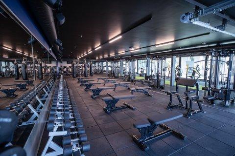 STENGT: Treningssentrene i Oslo har vært stengt i totalt åtte måneder det siste året.